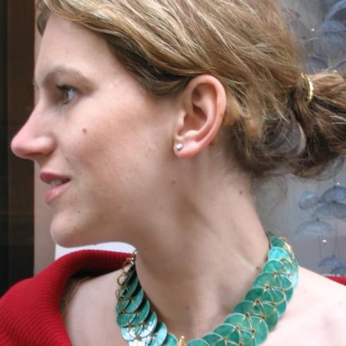 """Ralph Bakker - necklace """"crocodile"""""""