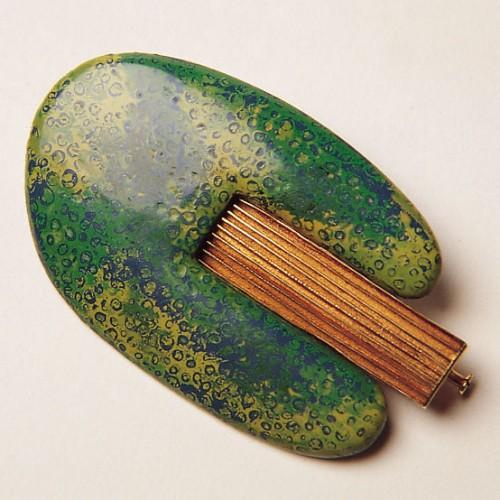 """Joaquim Capdevila - brooch""""Green Tree"""""""