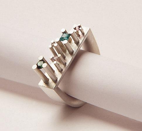 """Sabine Hauss - ring """"Manhattan"""""""