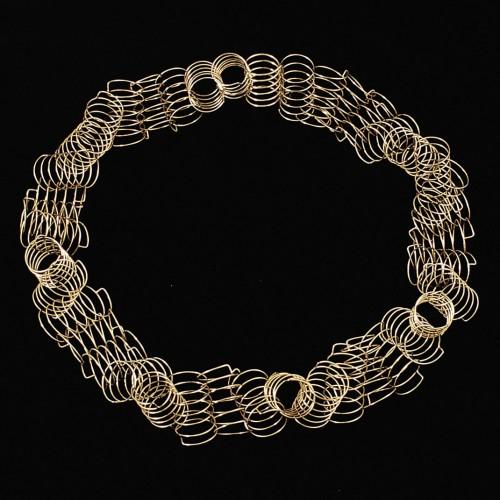 "Gerti Machacek - necklace ""Corona"" 1999"
