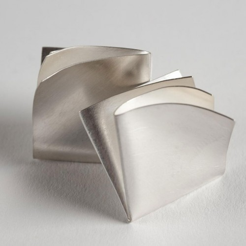 "Gerti Machacek - Earrings ""fold clips"""