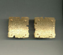 Jacqueline Ryan - earrings 1996