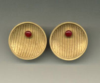 Jacqueline Ryan - earrings 1995