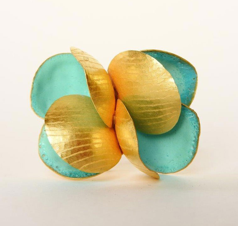 Jacqueline Ryan - Acqua lily leaf