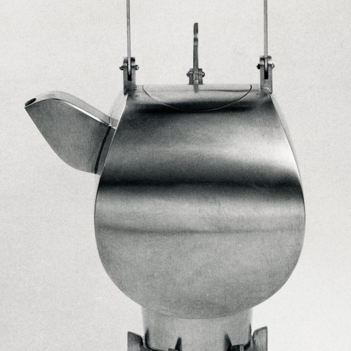 Peter Verburg - teapot with hot stand