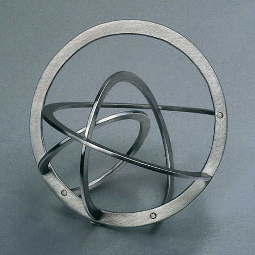 "Jiri Sibor - ring ""Twisted circles"""