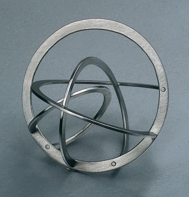 "Jiri Sibor - ring ""Twisted circles"""