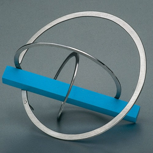 "Jiri Sibor - brooch ""Twisted circles"""