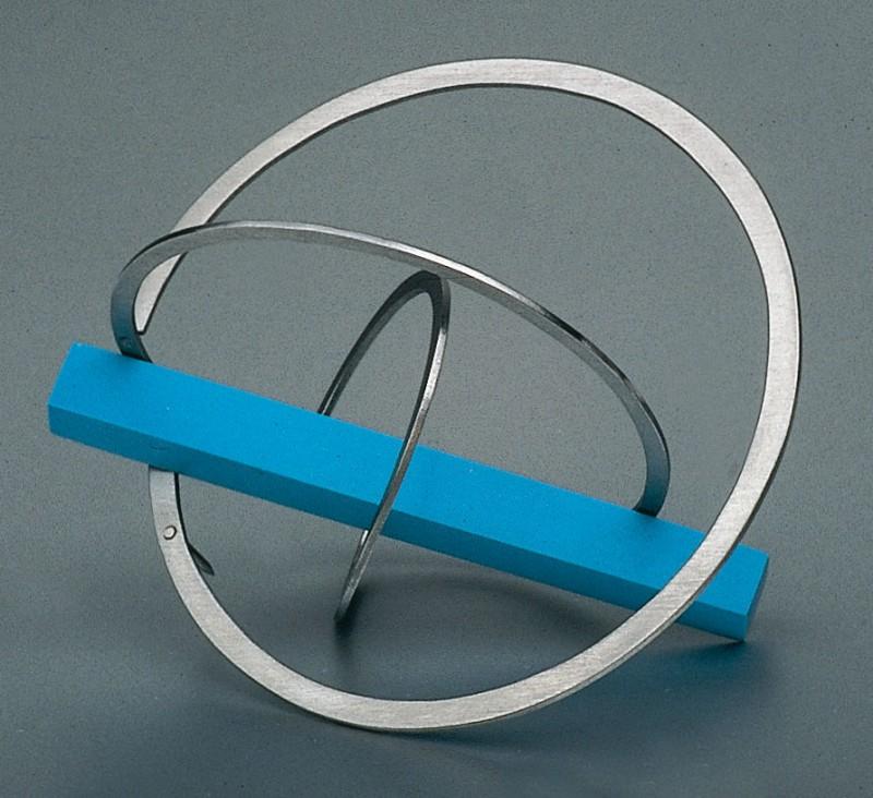 "Jiri Sibor - brooch ""Twisted circles"""