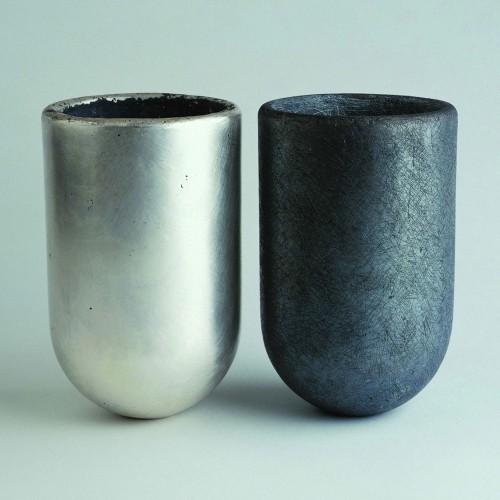 "David Huycke - silvervase ""Bolinder 3"" 2000"