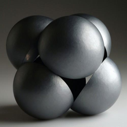 "David Huycke - Silver ""Cubic Spheroid"""