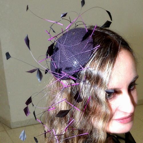 Birgit Sophie Metzger - headpiece with clip