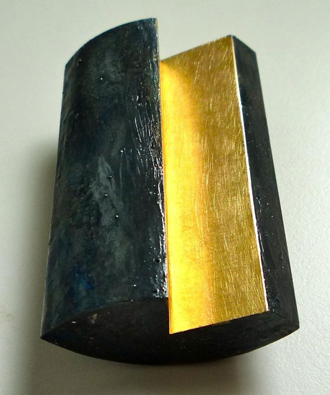 "Renzo Pasquale - brooch ""Cylinder"""