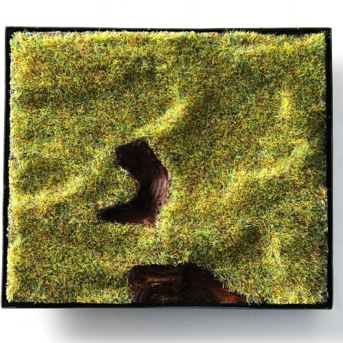 "Per Suntum - brooch ""Where the holka horse grasses""- series: japanese garden"