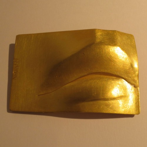 "Bruno Martinazzi - brooch ""mouth"""