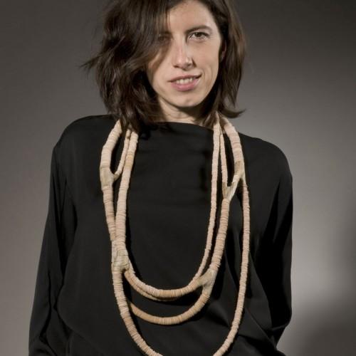 Silke Spitzer - Necklace of wood knots