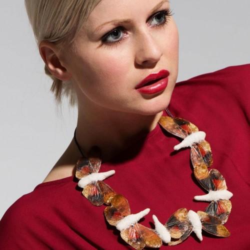 "Märta Mattson - necklace ""fossils"""