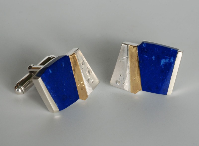 "Martin Spreng - cuff links ""cosmic impressions"""