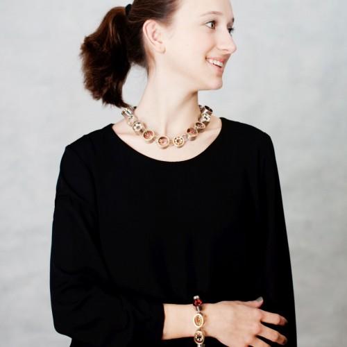 Anna Heindl - Necklace and bracelet