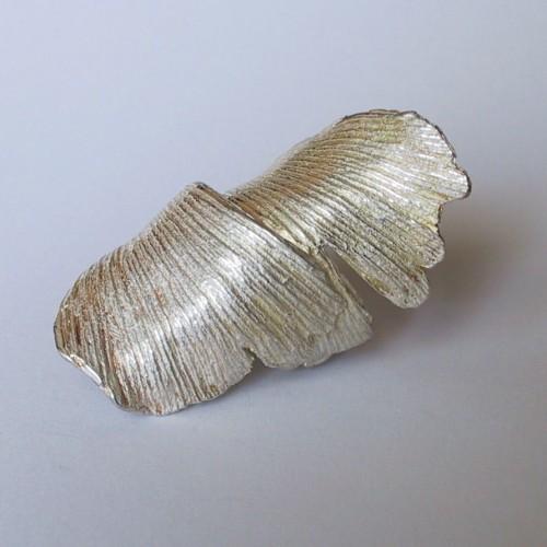 Elisabeth Jesus Defner - ring gingko leaf
