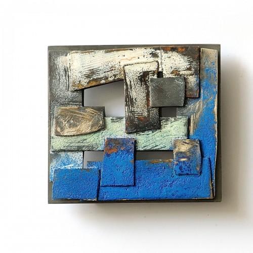 Heidemarie Herb - mini pictures - blau