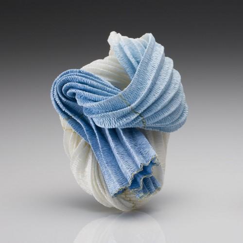 Kazumi Nagano - brooch light blue
