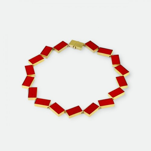 Michael Becker - necklace red