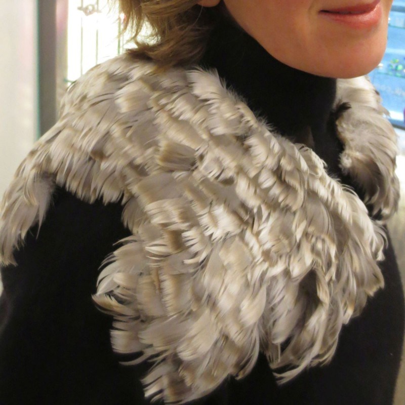 Maria Baumschlager-Dünser - collar play of the wings